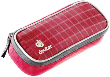 Пенал Deuter School Pencil Case raspberry check