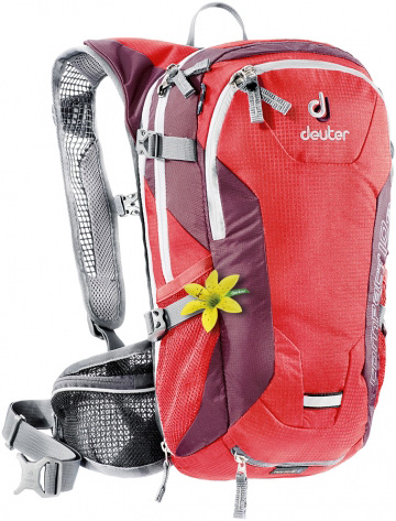 Рюкзак Deuter Bike Compact EXP 10 SL fire-aubergine