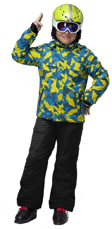 Брюки горнолыжные MAIER Maxi SLIM Black черный
