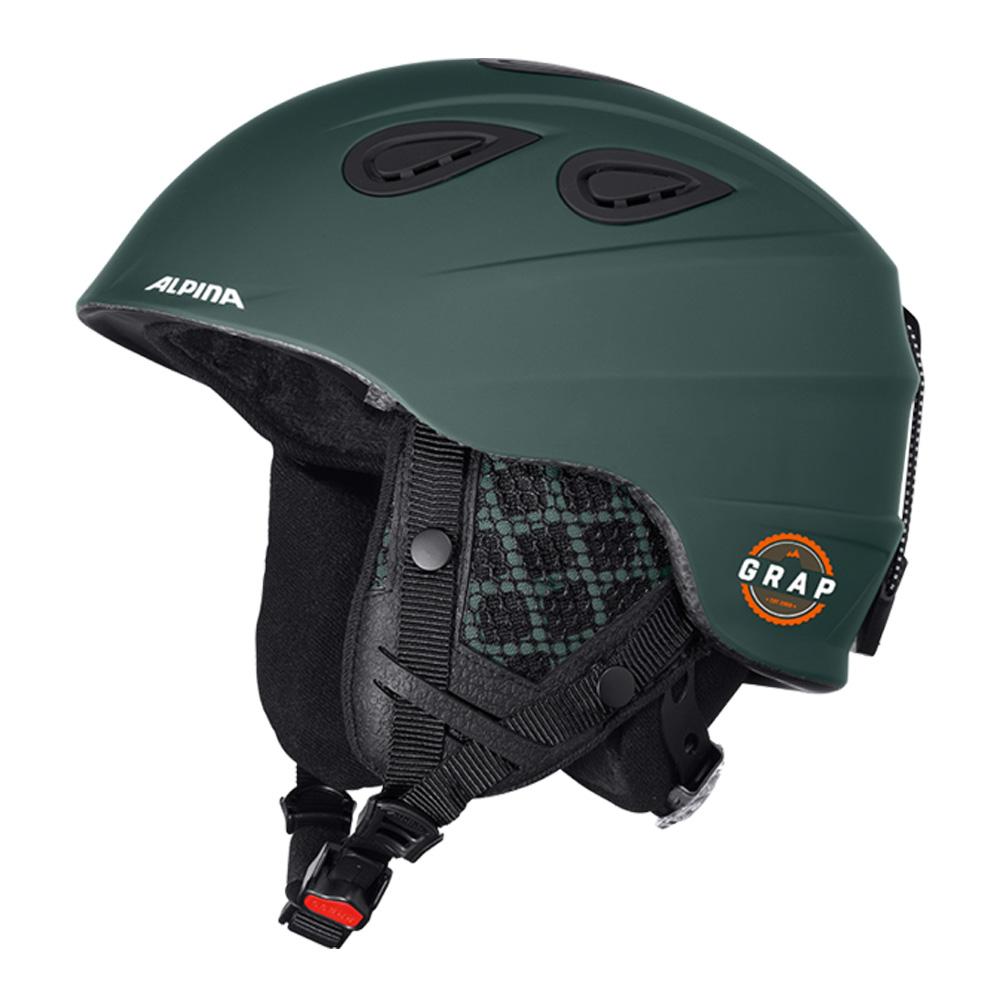 Зимний Шлем Alpina GRAP 2.0 L.E. pine-green matt