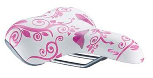Седло BBB saddle sports DesignComfort butterfly pink b/fly pink (BSD-47_b/fly pink)