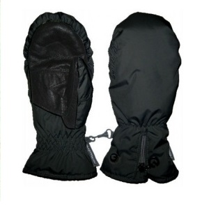 Варежки GLANCE Donna mitten black (черный)