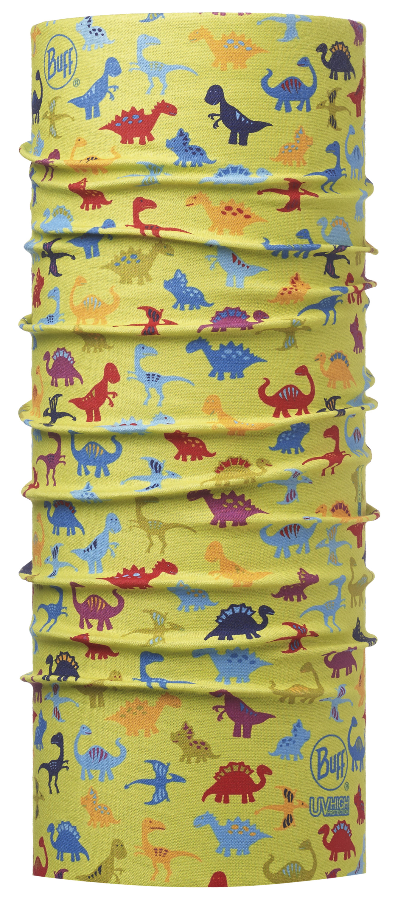 Бандана BUFF 2016 High UV Protection BUFF BABY HIGH UV BUFF® DINOS LIME
