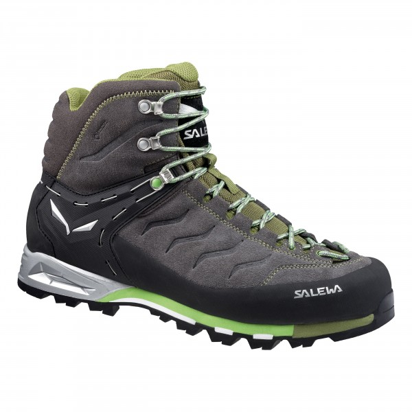 Ботинки для альпинизма Salewa Alpine Approach MS MTN TRAINER MID GTX Pewter/Emerald /