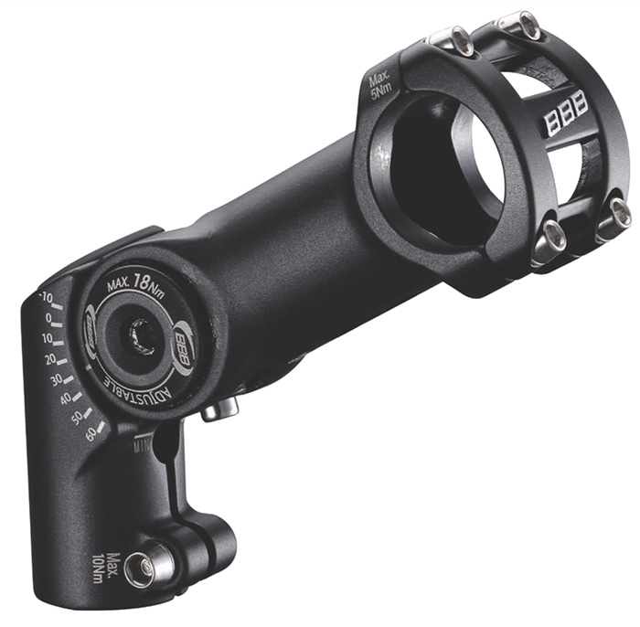 Вынос BBB adjusteable HighFix 100mm 31.8 black (BHS-35)