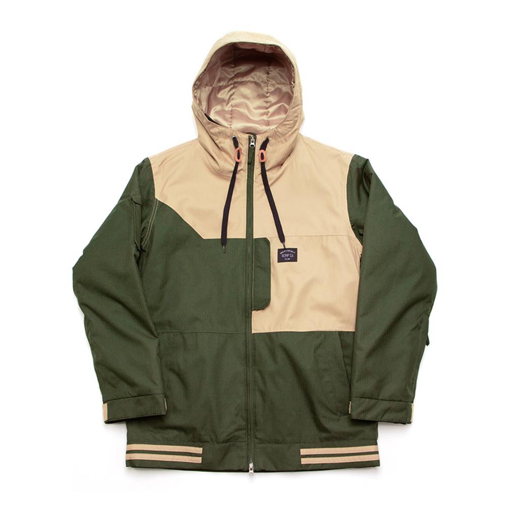Куртка сноубордическая ROMP 2016-17 50:50 Jacket SAND/ARTEMISIA GREEN