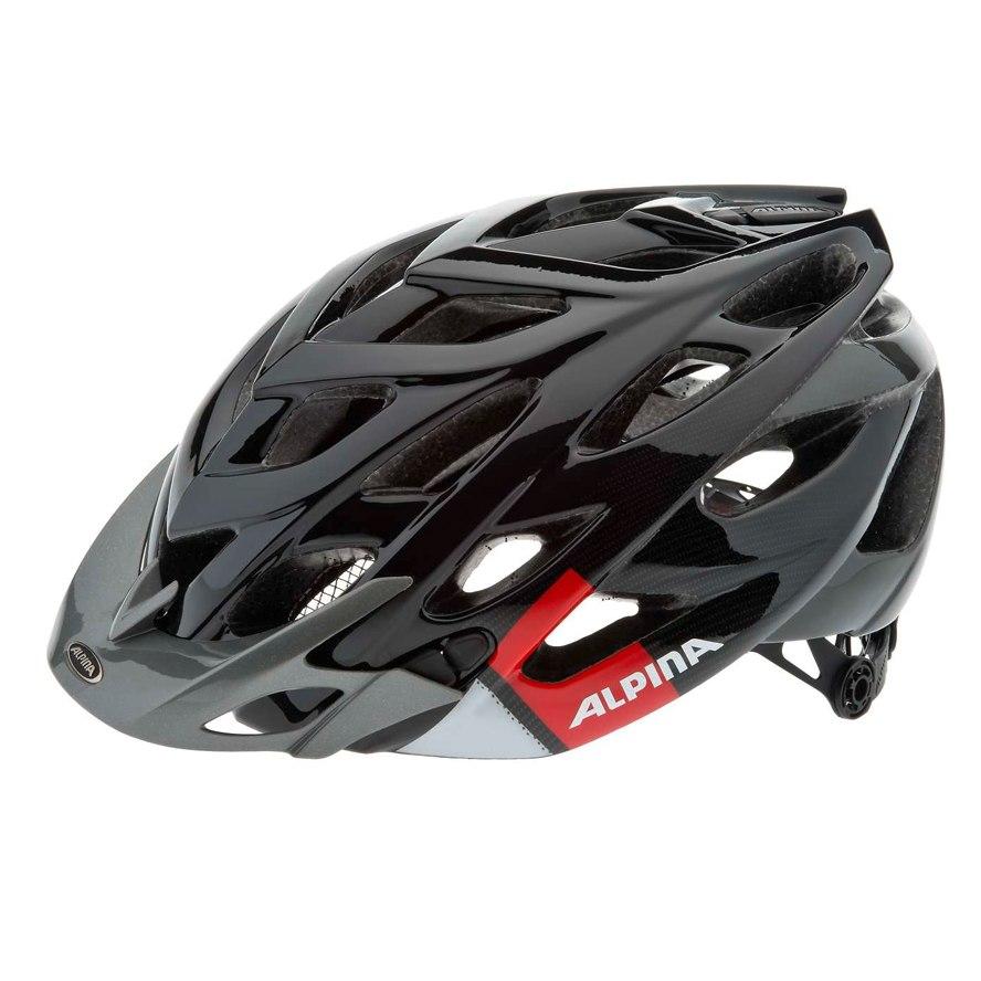 Летний шлем ALPINA MTB D-Alto black-red-white