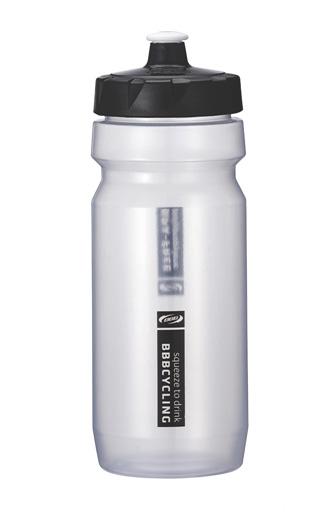 Фляга вело BBB 550ml. CompTank clear/black (BWB-01)