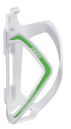 Флягодержатель BBB FlexCage белый/зеленый (BBC-36)