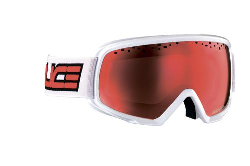 Очки горнолыжные Salice 609DARWFV WHITE/RWRED