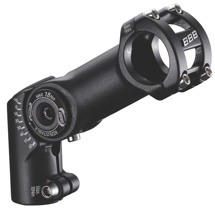 Вынос BBB adjusteable HighFix 80mm 31.8 black (BHS-35)