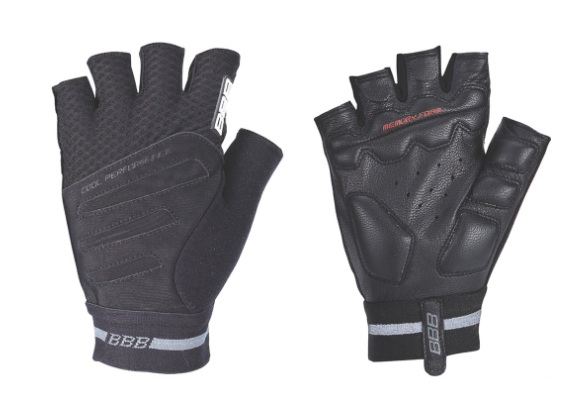 Перчатки велосипедные BBB Equipe black/white (BBW-48)