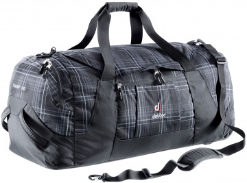 Сумка на колесах Deuter Travel Tramp 90 black check