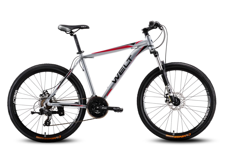 Велосипед Welt Ridge 2.0 D 2016 matt silver/red