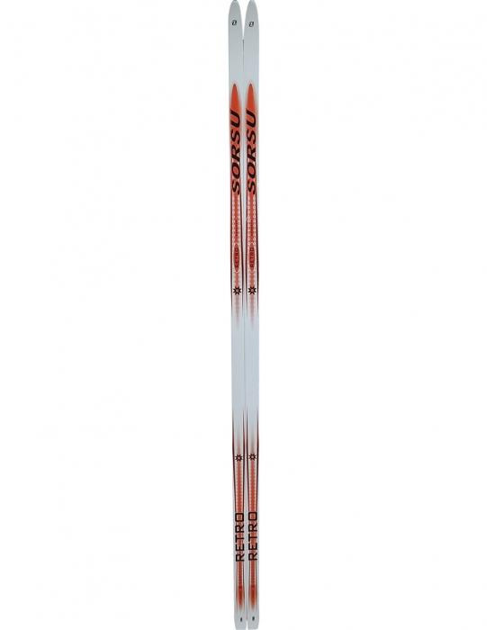 Беговые лыжи KARJALA 2014-15 Retro Sorsu wax красные