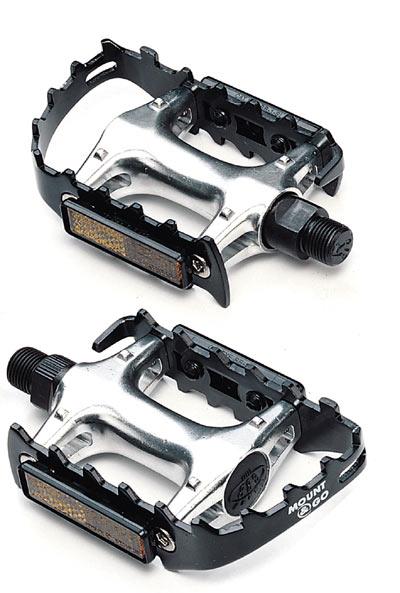 Педали BBB Mount&Go mtb black/silver (BPD-15)
