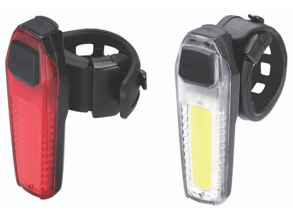 Велофонарь (комплект) BBB 2015 lightset CombiSignal front + rear rechargeable lithium battery (BLS-83)