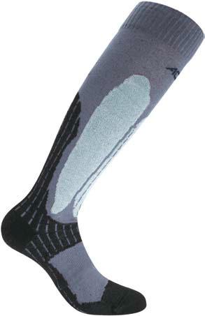 Носки ACCAPI SNOWBOARD black/grey (черный/серый)