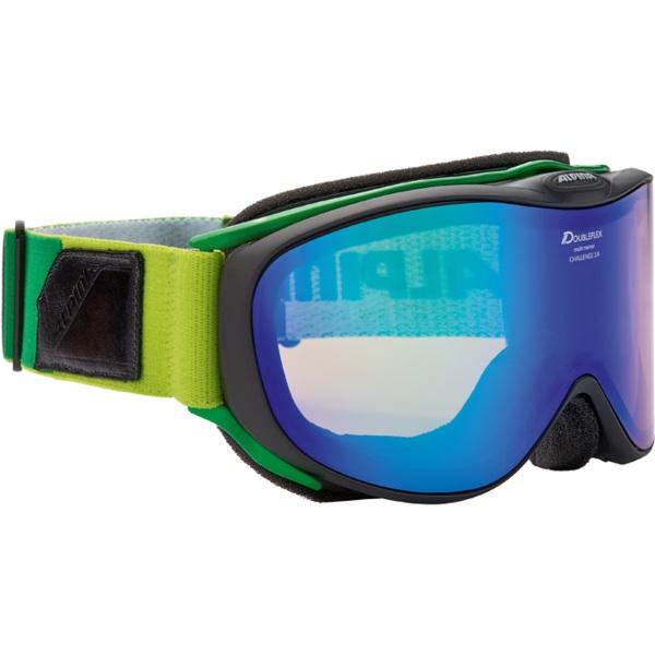 Очки горнолыжные Alpina Challenge 2.0 MM black _MM green S2