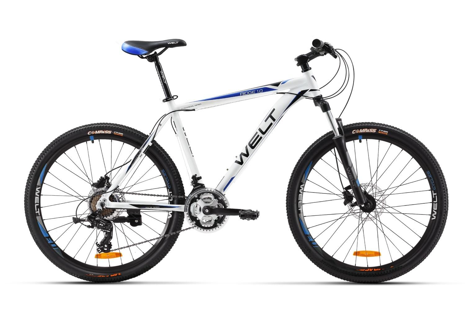 Велосипед Welt Ridge 1.0 D 2016 matt white/darkblue