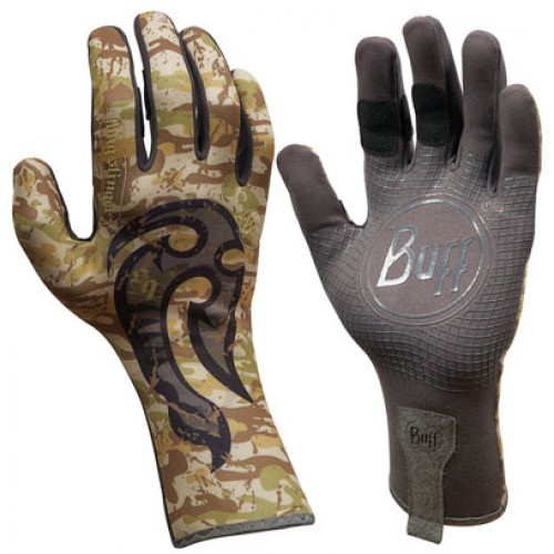 Перчатки рыболовные BUFF MXS Gloves BUFF Licenses MSX GLOVES BUFF BS MAHORI HOOK M/L