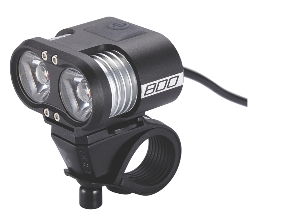 Фонарь передний BBB Scope 800 lumen LED black (BLS-67)