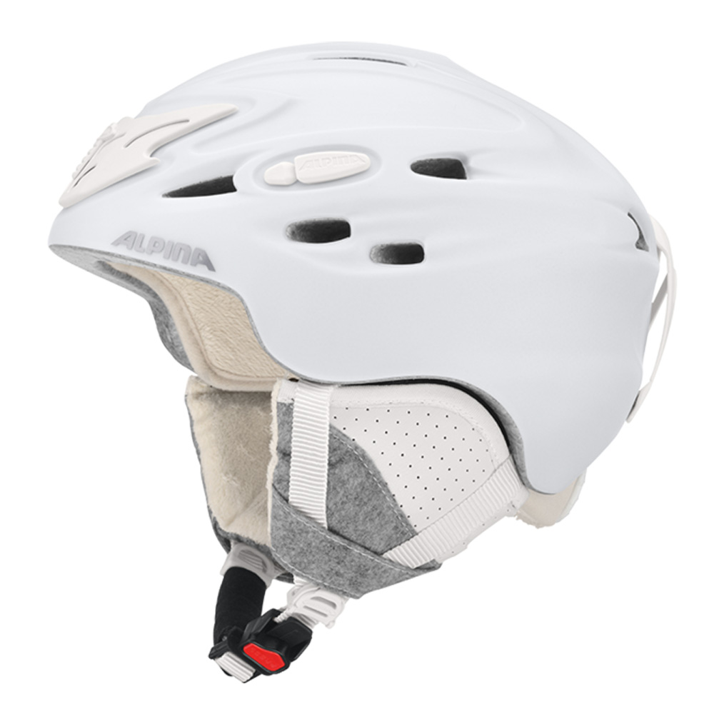 Зимний Шлем Alpina SCARA white matt