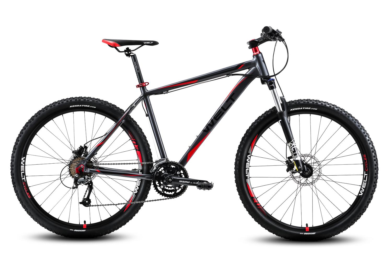 Велосипед Welt Rockfall 2.0 2016 matt grey/red