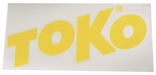 Наклейка TOKO TOKO Letter Sticker Yellow