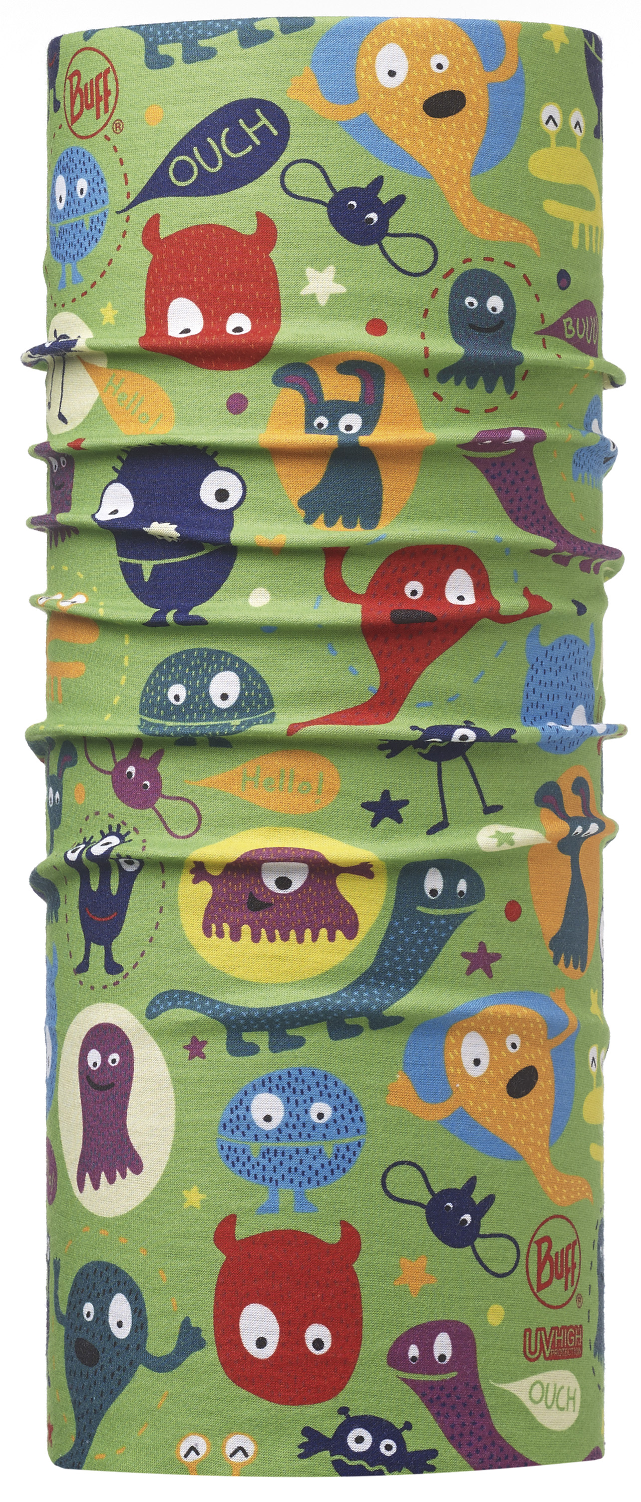Бандана BUFF 2016 High UV Protection BUFF CHILD HIGH UV BUFF® FUNNY MONSTERS MULTI
