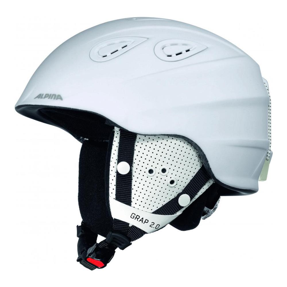Зимний Шлем Alpina GRAP 2.0 white matt