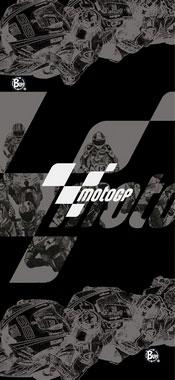 Бандана BUFF TUBULAR MOTO GP BUFF BLACK RACE