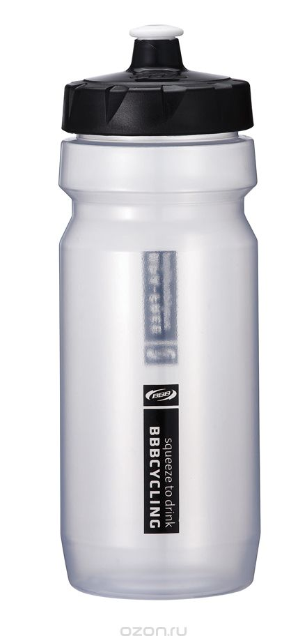Фляга вело BBB 550ml. CompTank white/black (BWB-01)