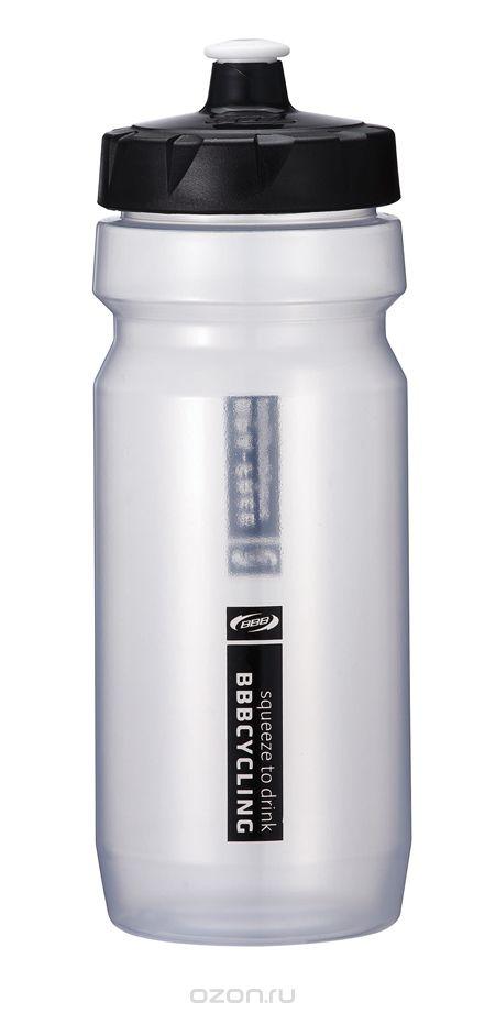Фляга вело BBB 550ml. CompTank white/black (BWB-01)