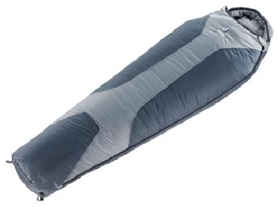 Спальник Deuter 2016-17 Sleeping Bags Orbit -5 L (прав) silver-anthracite