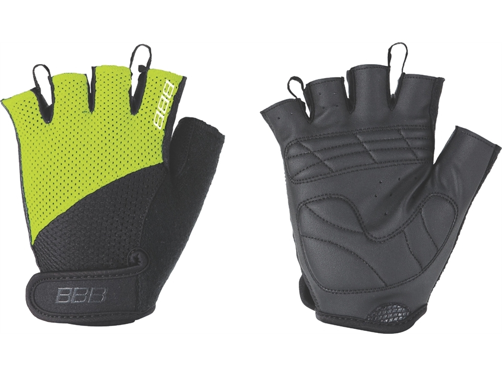 Перчатки велосипедные BBB Chase black/neonyellow (BBW-49)