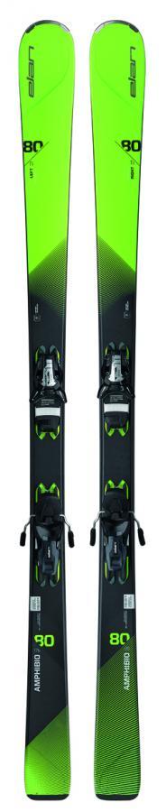 Горные лыжи с креплениями Elan 2016-17 AMPHIBIO 80 TI PS ELS11.0
