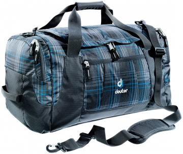 Сумка-баул Deuter 2015 Travel Relay 60 blueline check