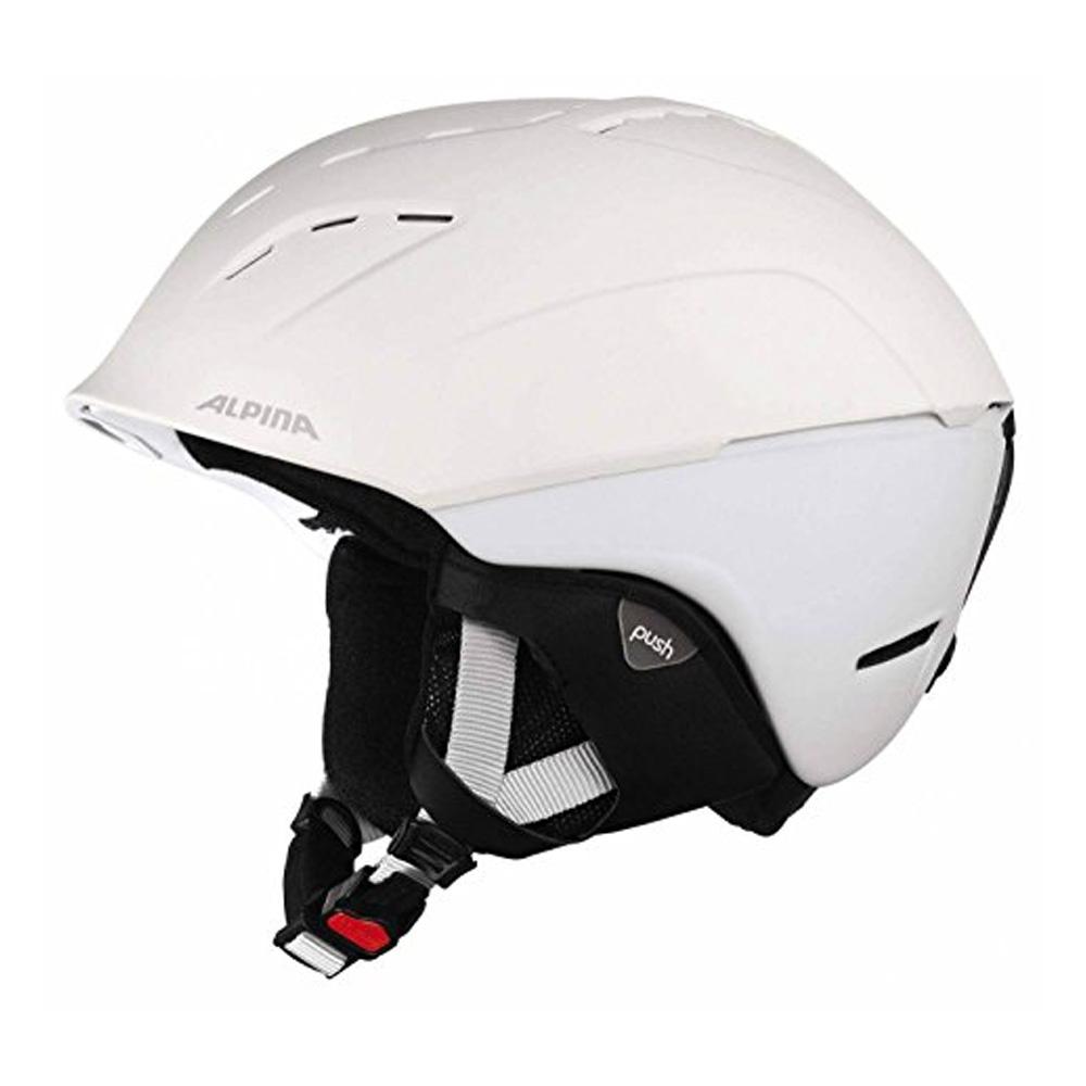 Зимний Шлем Alpina SPICE white matt