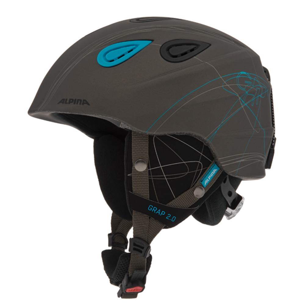 Зимний Шлем Alpina GRAP 2.0 grey matt