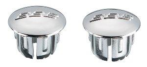 Заглушки для грипс BBB End caps 2pcs silver (BHT-90S)