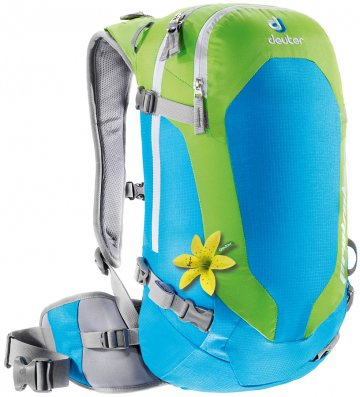 Рюкзак Deuter 2015 Alpine Winter Provoke 14 SL turquoise-kiwi