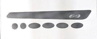 Набор защиты BBB BikeSkin carbon (BBP-51)