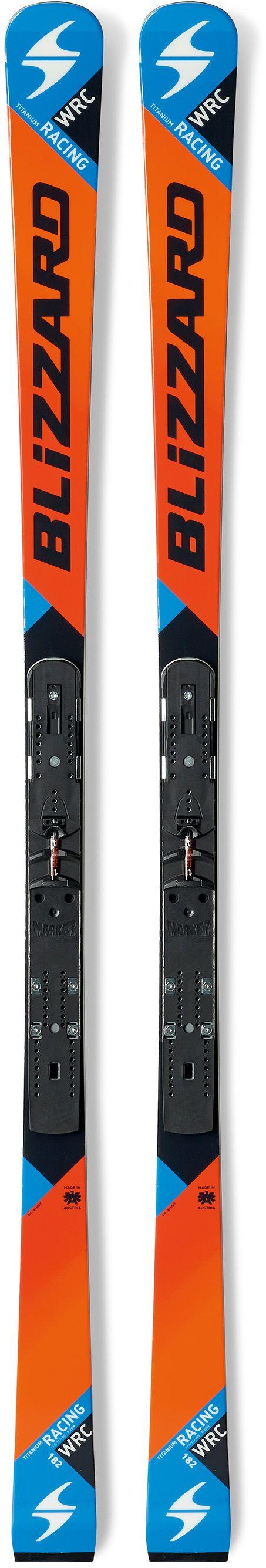 Горные лыжи Blizzard 2015-16 WRC RACING WC-PISTON(FLAT+PLT) ORANGE-BLACK-BLUE