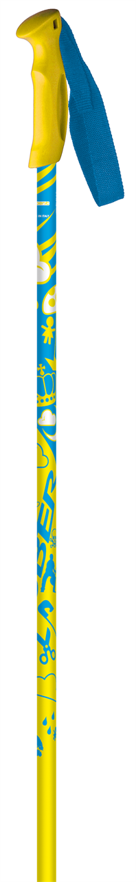 Горнолыжные палки Cober 2015-16 Gara kid qiallo