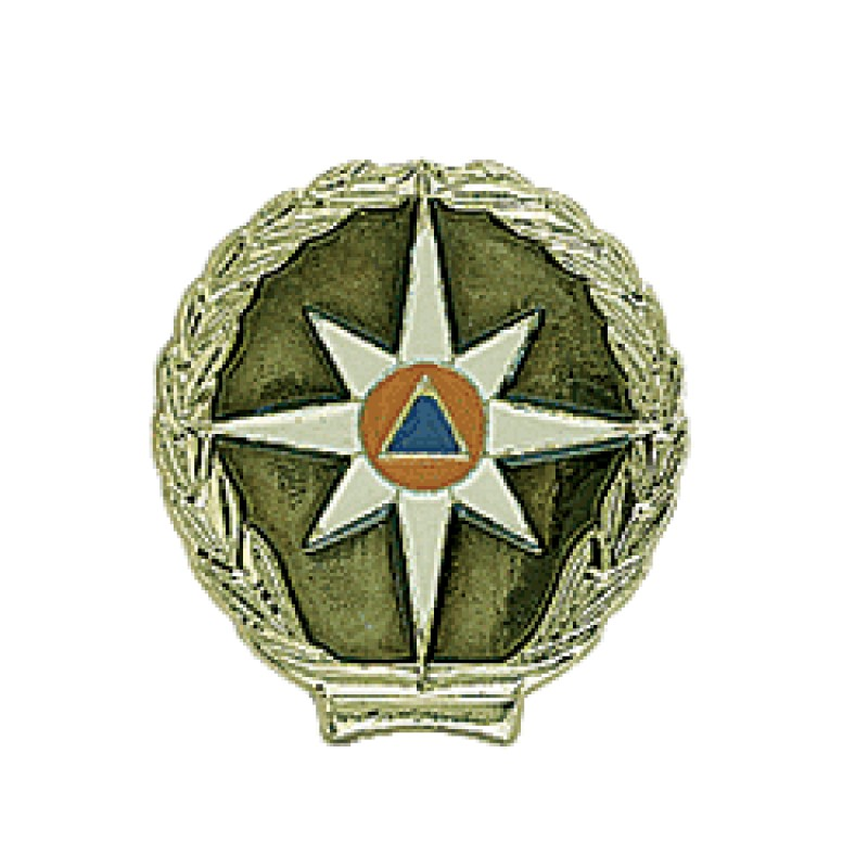 Эмблема петличная МЧС повседневная металл