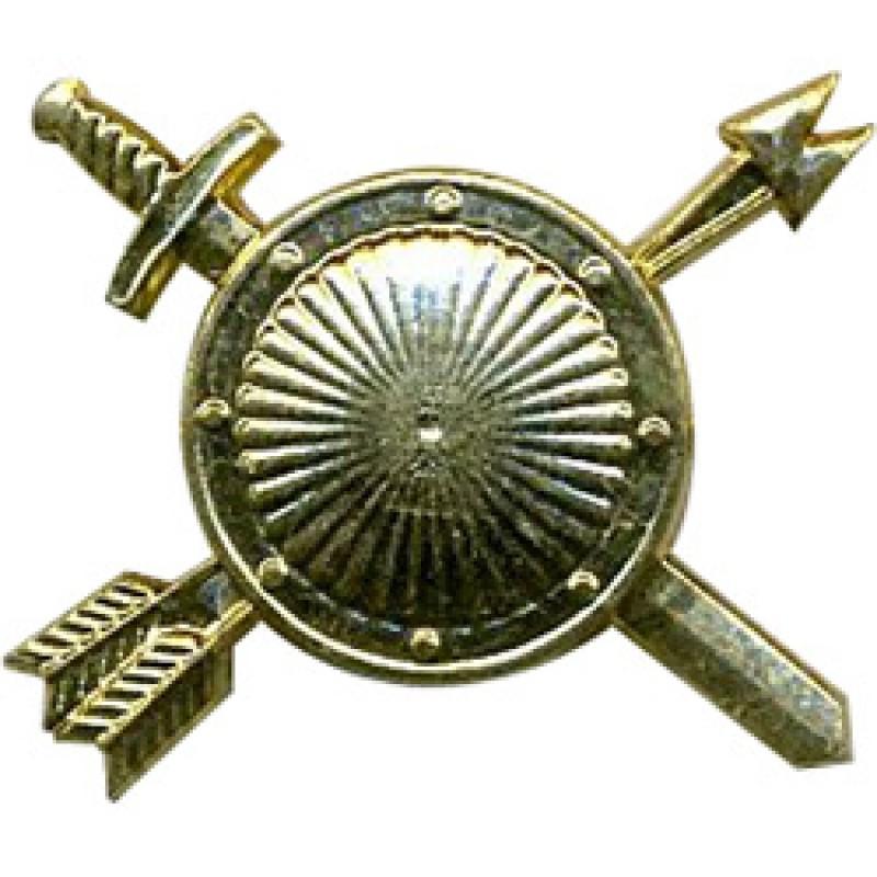 Эмблема петличная РВСН нового образца повседневная металл