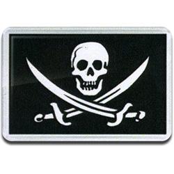 Магнит 126м Пират сабли сувенирный