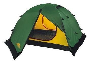 Универсальная двухместная туристическая палатка с двумя входами и двумя тамбурами Alexika Rondo 2 Plus зеленый, Палатки 3-местные - арт. 264430321