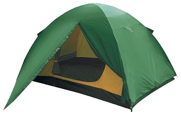 Лёгкая двухместная туристическая палатка Alexika Scout 2 зеленый